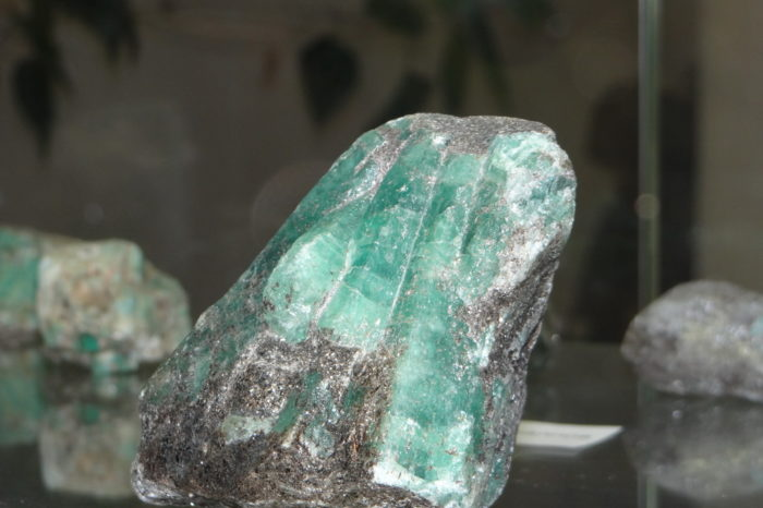 The emerald mines of the Urals
